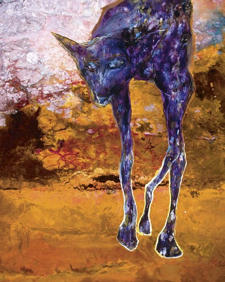 Desert Wild Dog  by Gail Caitlin
