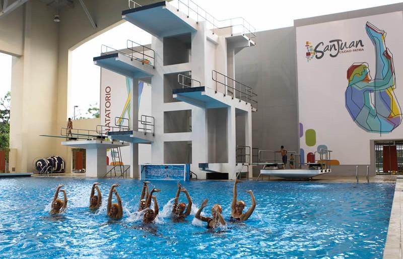 Pools of Puerto Rico: Winter Swim Training 2016-17