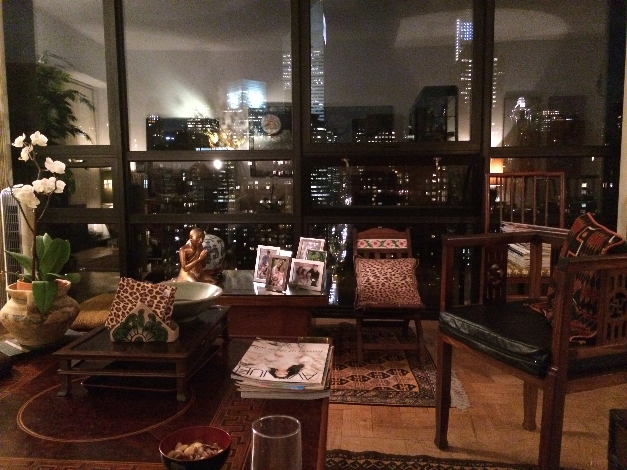 eclectic design with a view