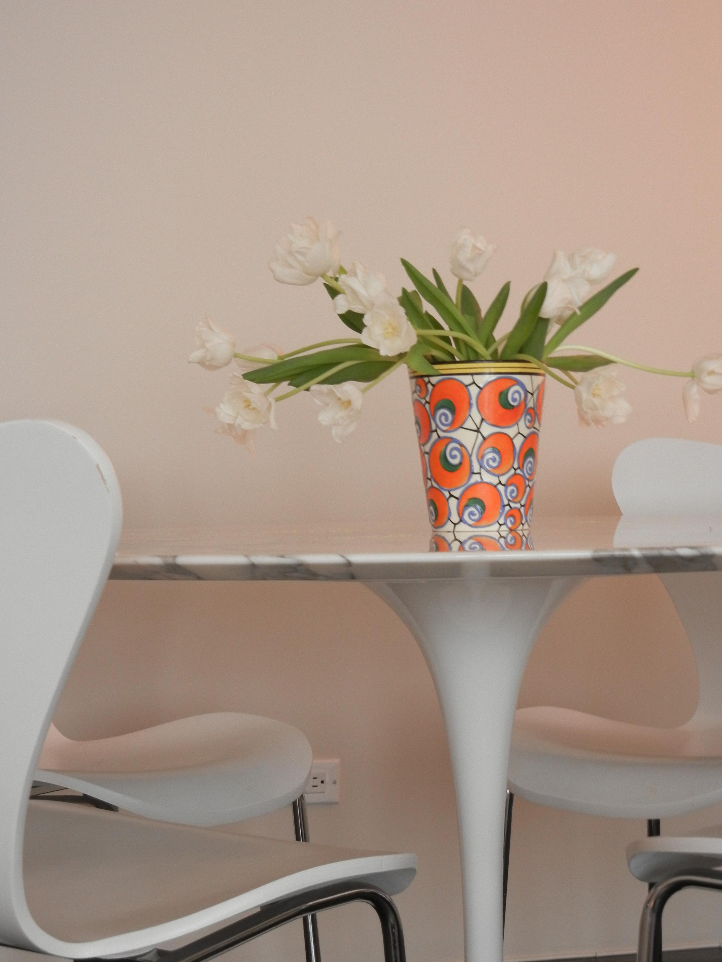 Saarinen table - Jody Harrow Interior Design