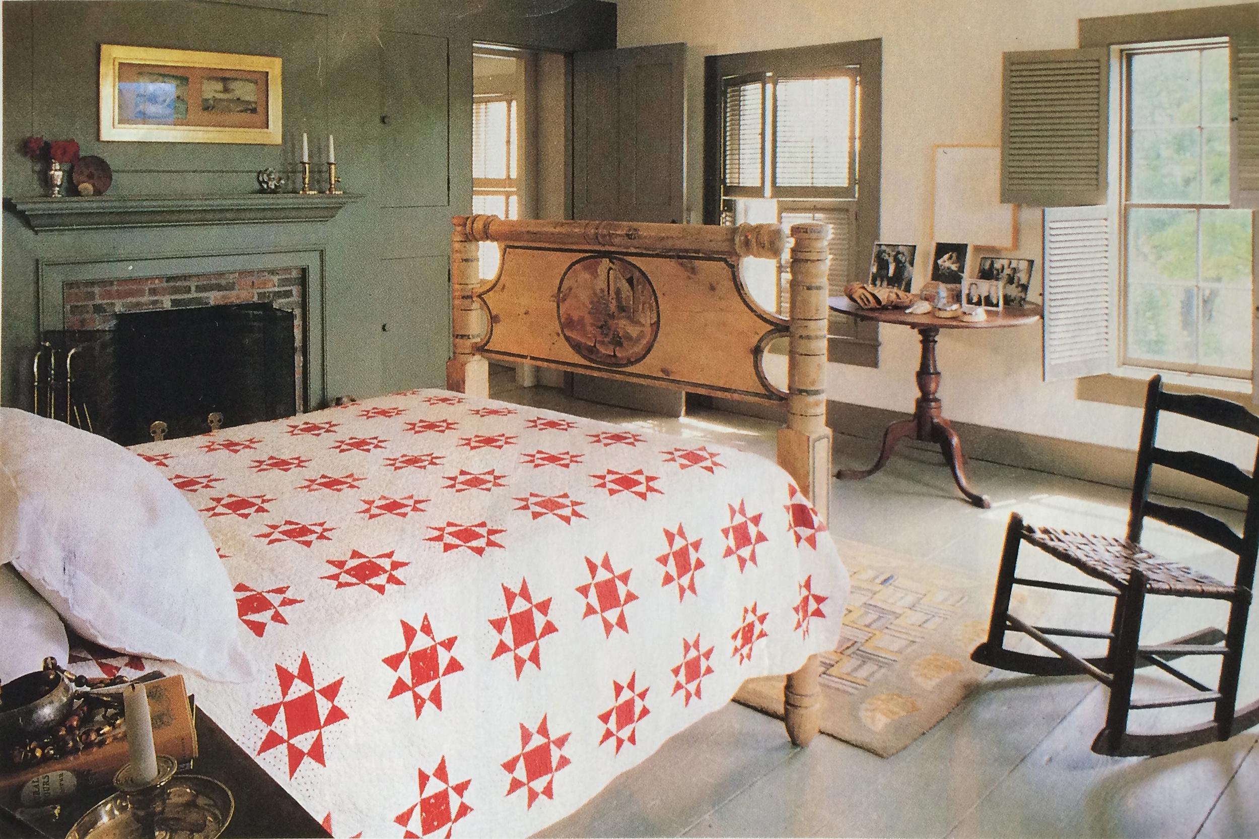 home belonging to Jason Pollock, nephew of the artist Jackson