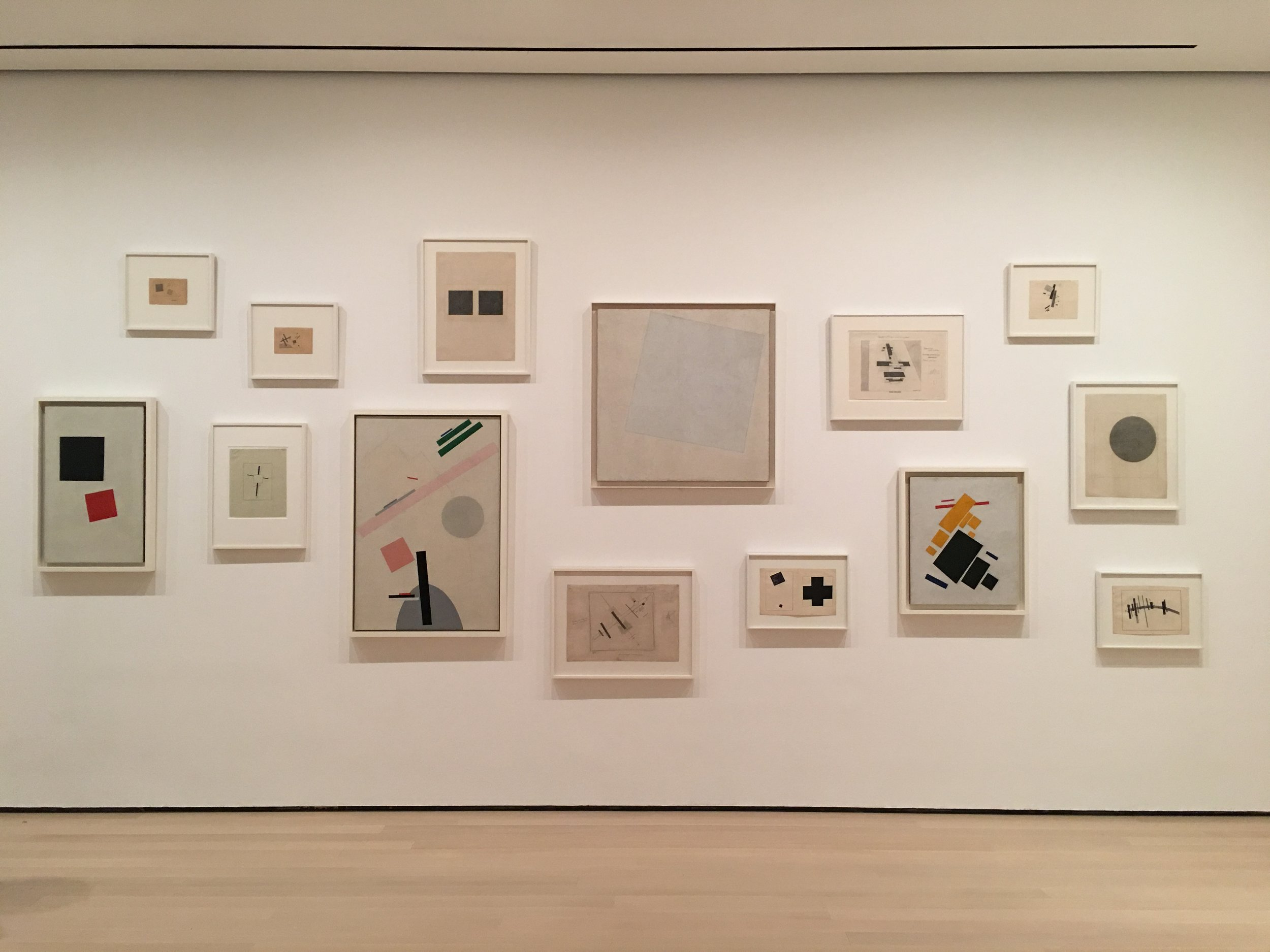 Malevich  shown at MoMA 2017
