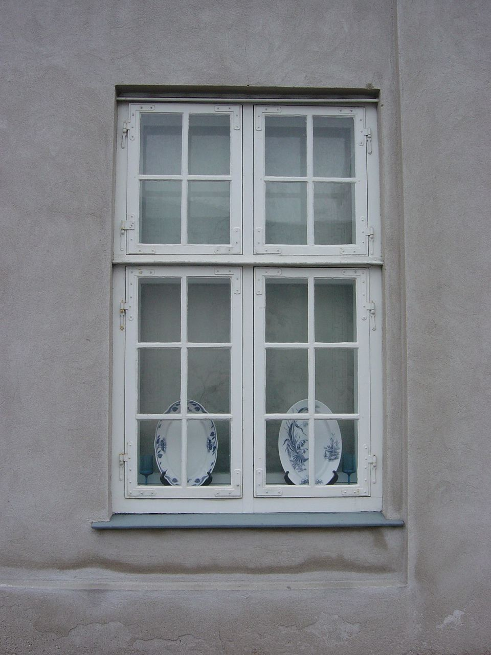 Denmark - pottery on a window sill