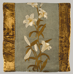 Candice Wheeler embroidered appliqué