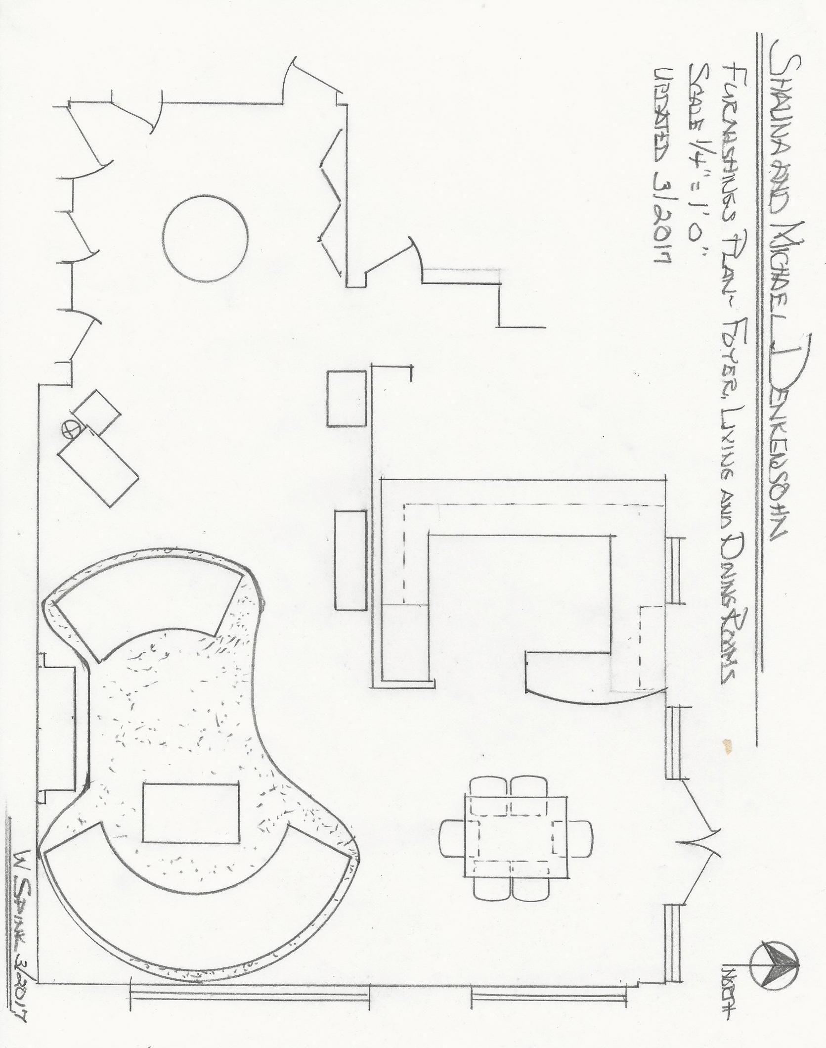 William Spink floorplan