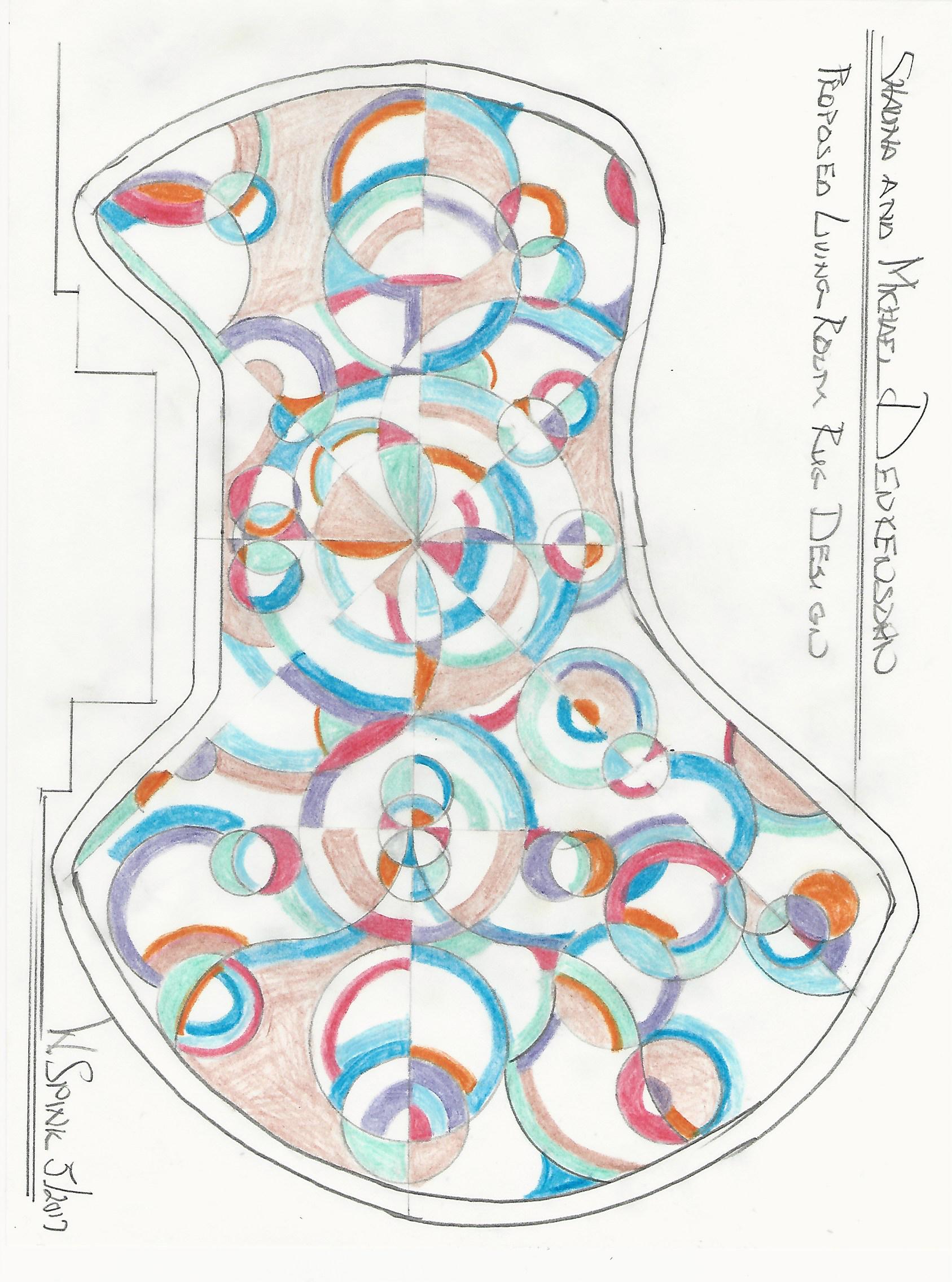 William Spink Carpet design