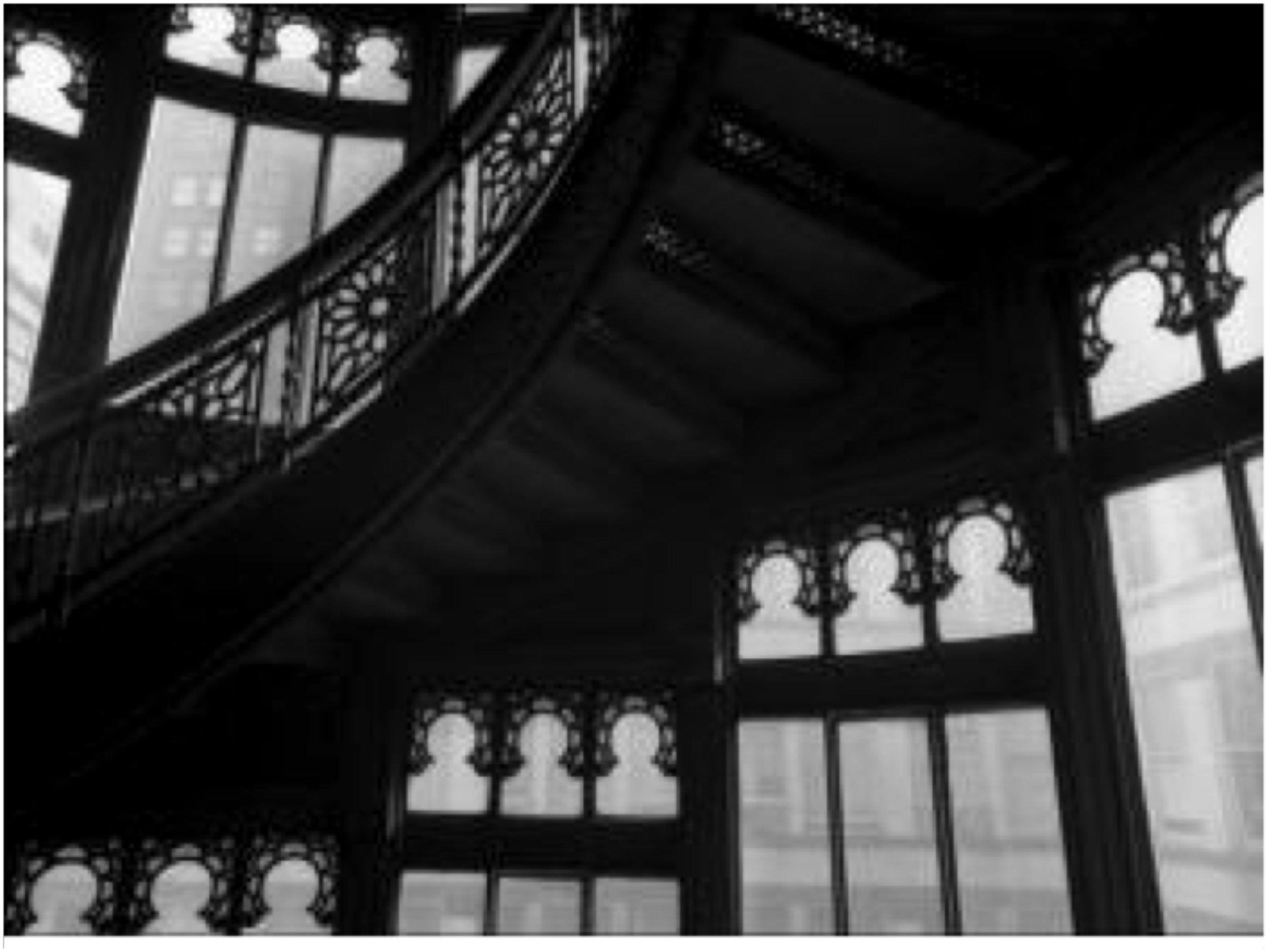Louis Sullivan Stairwell, Chicago