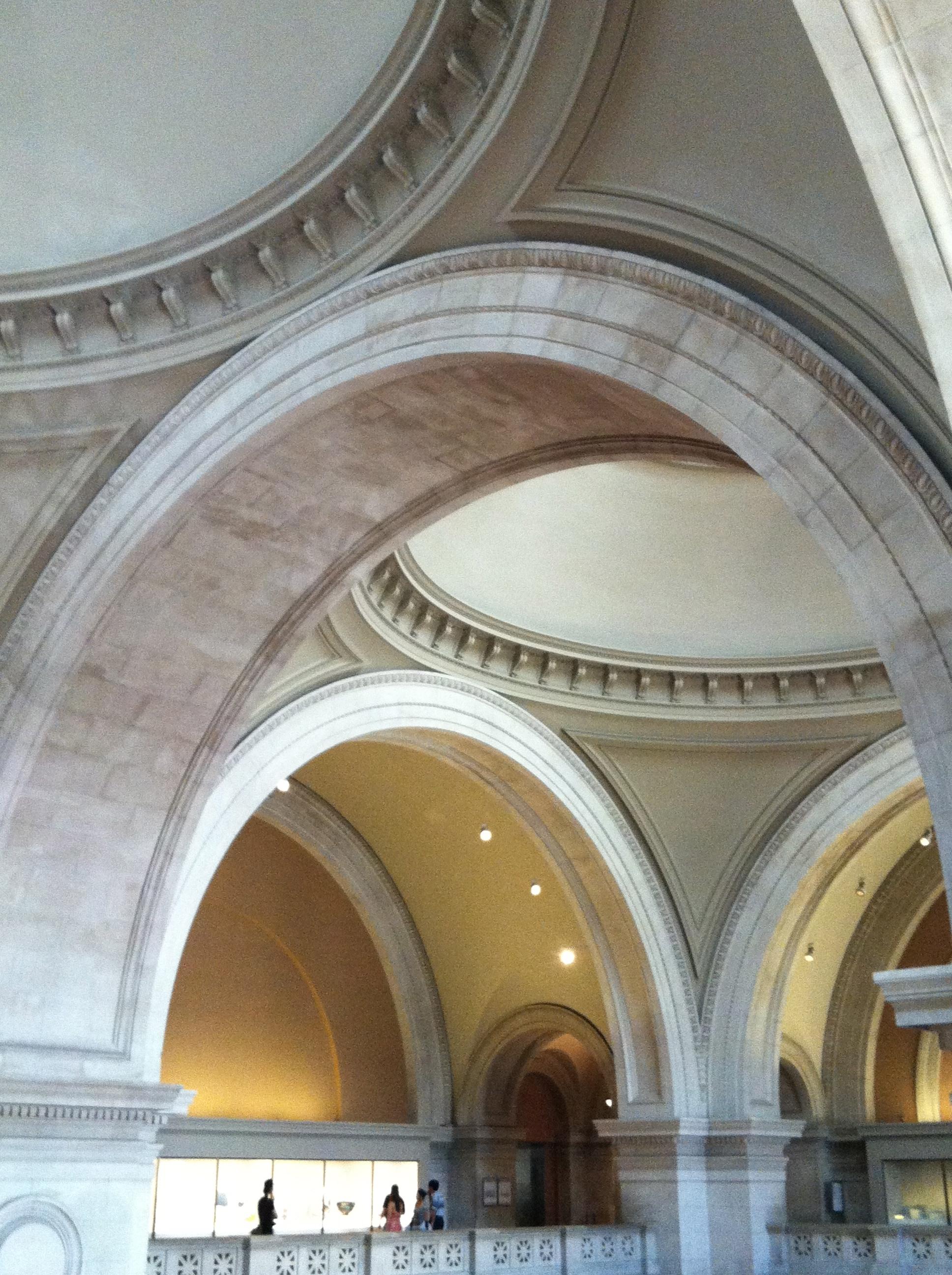 Metropolitan Museum, from the balcony.