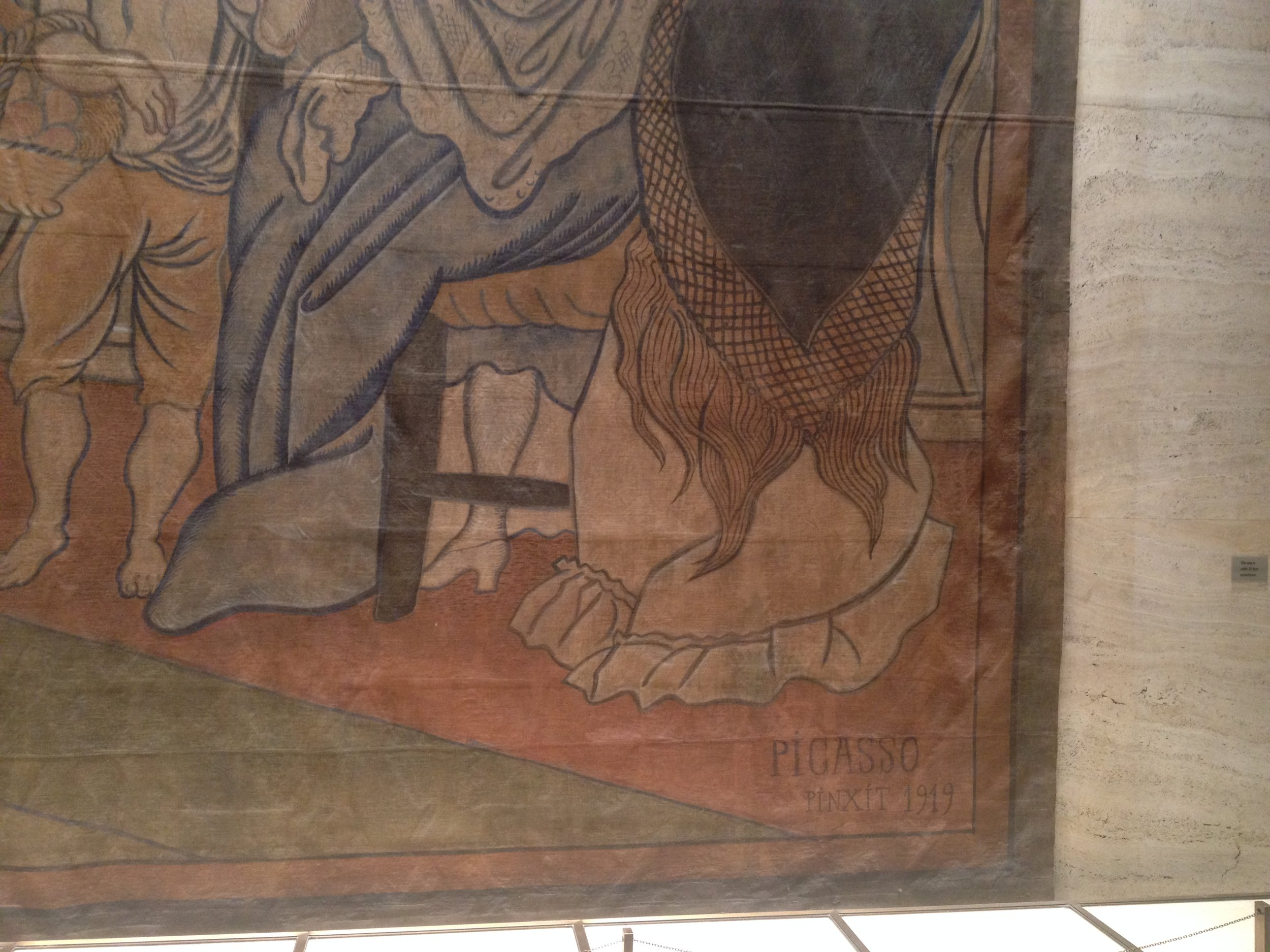 Picasso Tapestry - Four Seasons Restaurant