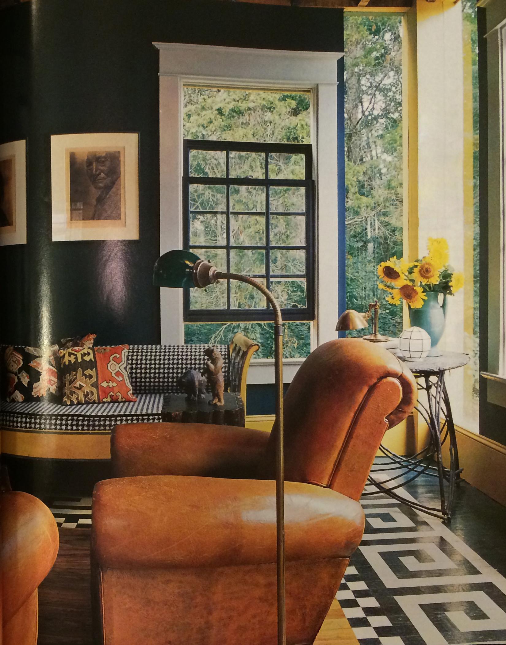 Painted floor fret pattern.jpg
