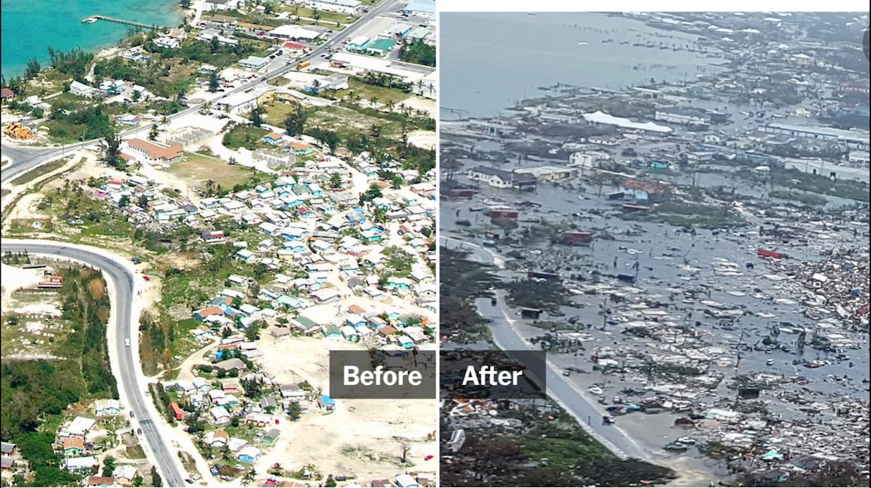 Bahamas - Hurricane Dorian - NYTImes