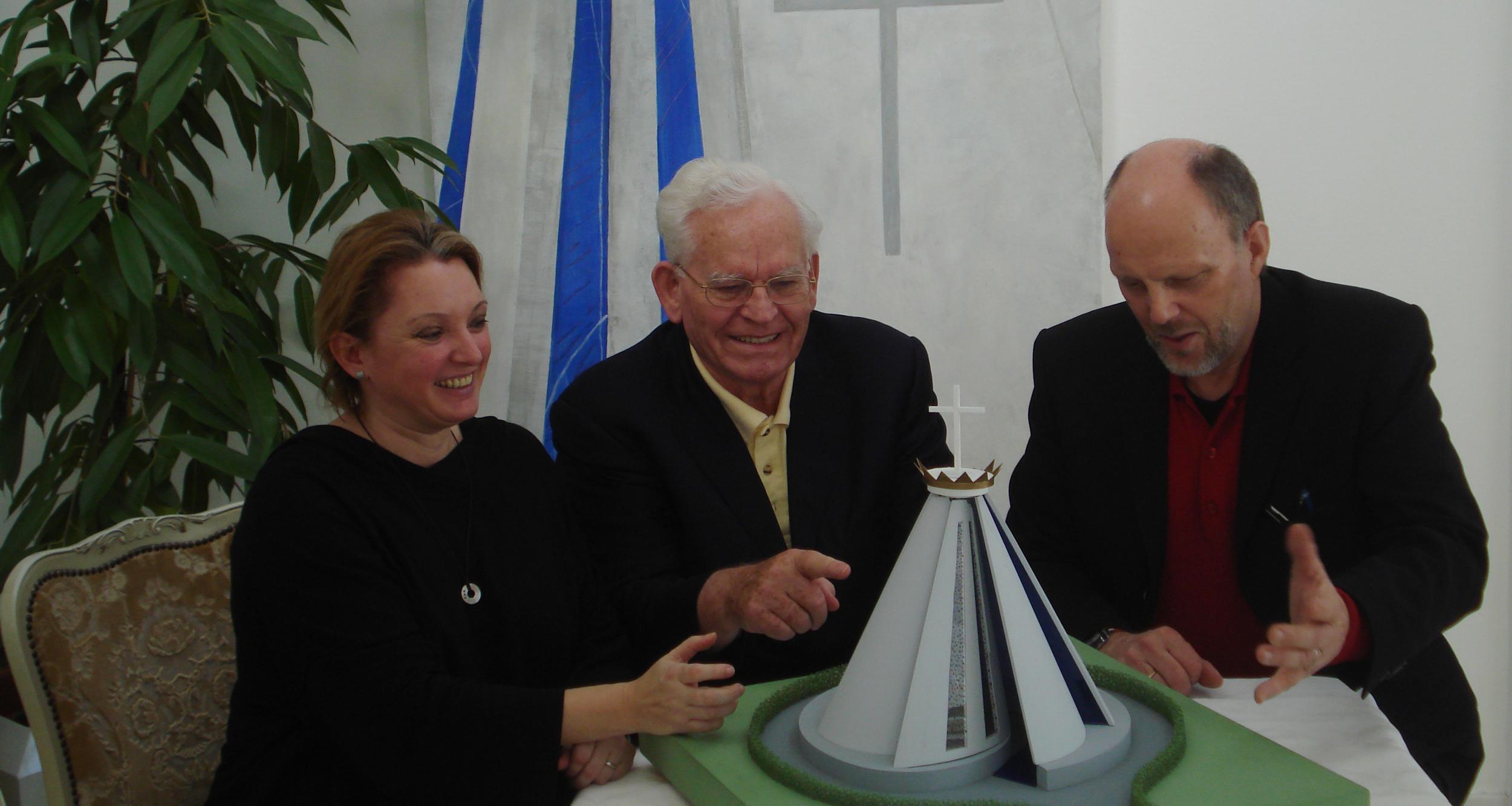 Marita Decker, Willi Schüßler und Jan Pannekoek