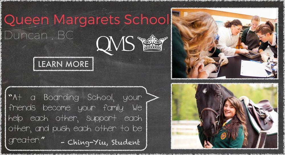 Queen Margaret's School Boarding School Testimonial