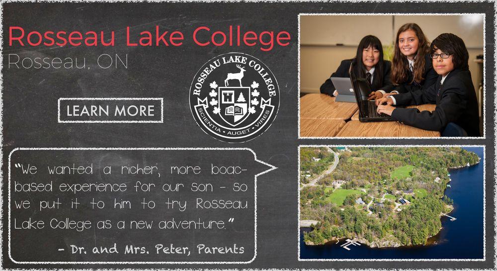 Rosseau Lake College Boarding School Testimonial