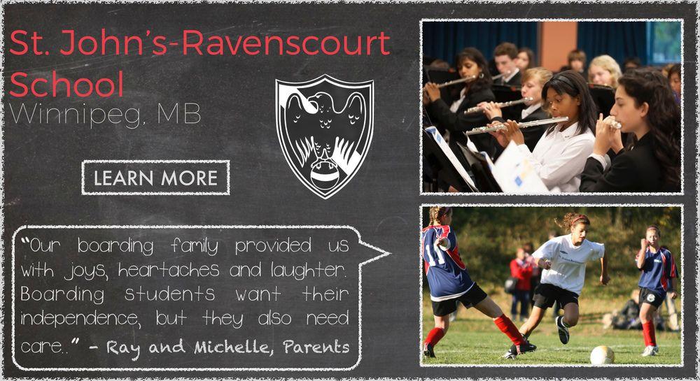 St John's Ravenscourt School Boarding School Testimonial
