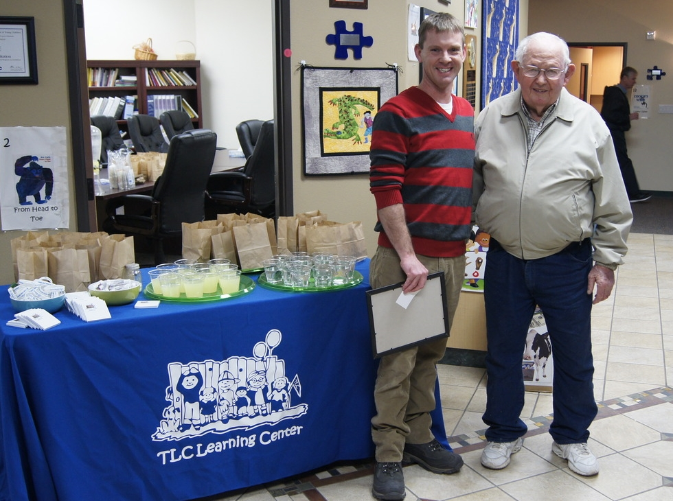 TLC Executive Director Matt Eldred and founding parent George Le Fever