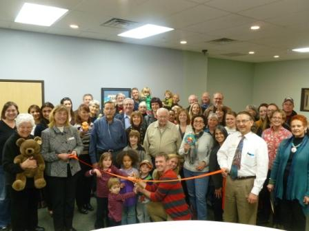 The Longmont Chamber of Commerce ribbon cutting ceremony for the new TLC infants & toddlers program