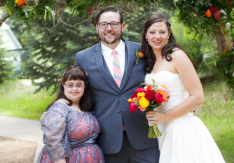 TLC alumni Casey with her brother Tom and his wife Lindsay