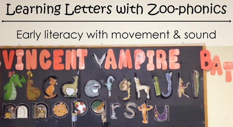 photo relating to Zoo Phonics Alphabet Cards Printable named Mastering Letters with Zoo-phonics TLC Understanding Heart