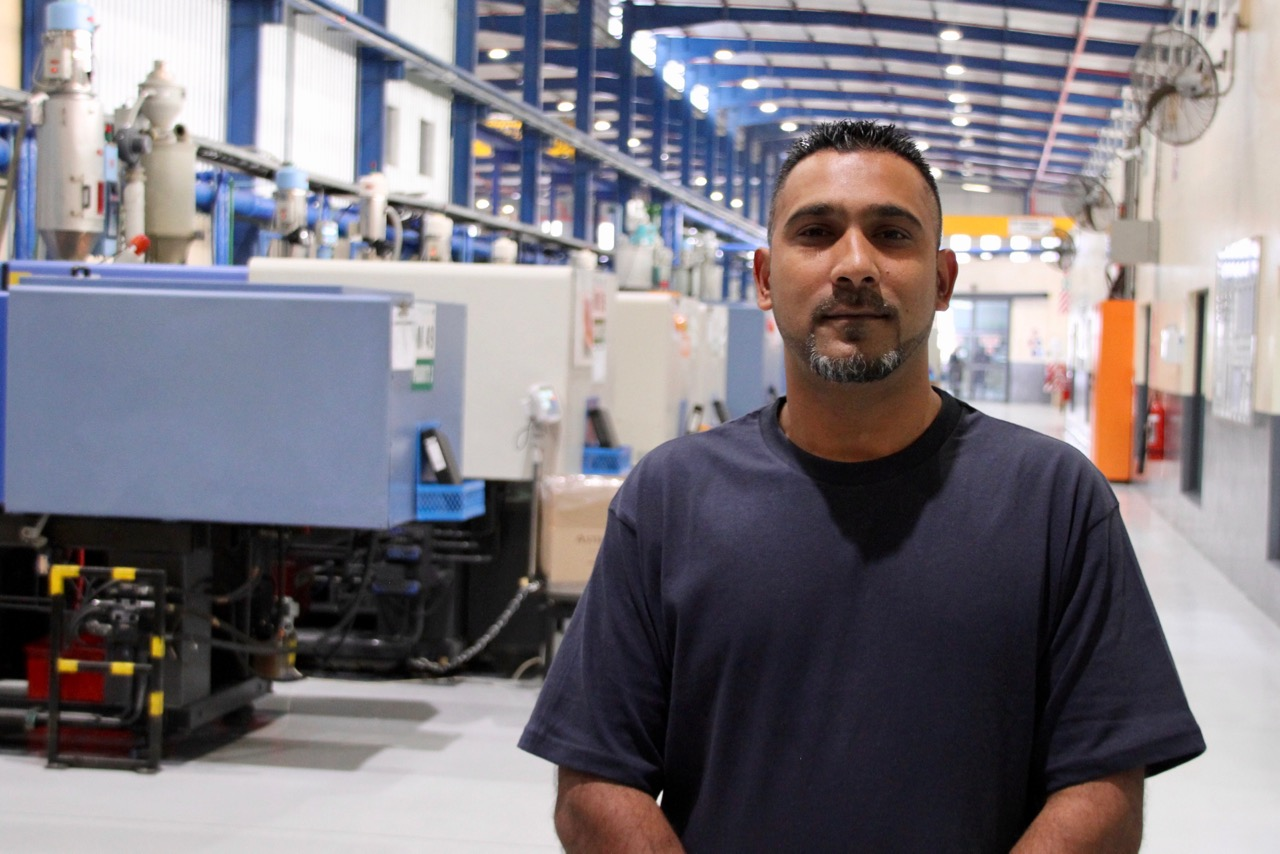 Machine Setter at JJ Precision in Westmead, Glen Chetty, embarked on an online training course through Productive Services and completed the six-month course in just three weeks