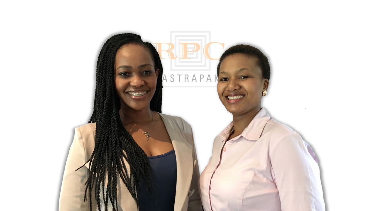 We introduce our two new team members - Hlengiwe Thusini and Buhle Mbatha - who are both committed to the understanding of what our customers are wanting and are focused on enhancing the service experience within RPC Astrapak Pak 2000.