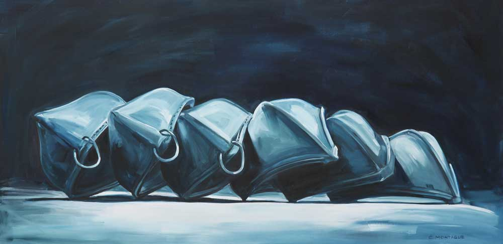 Canoe Painting: Dream Canoes (Ghost Canoes)