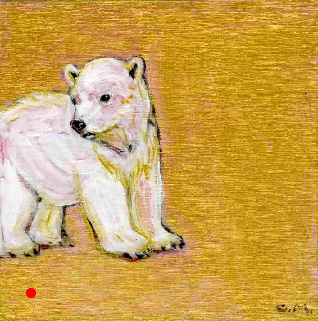 SOLD. Rose - Golder Bear Series