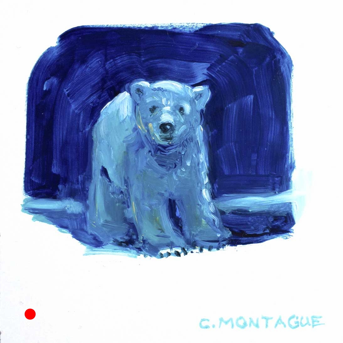 Sold. Polar Bear Cub No. 3