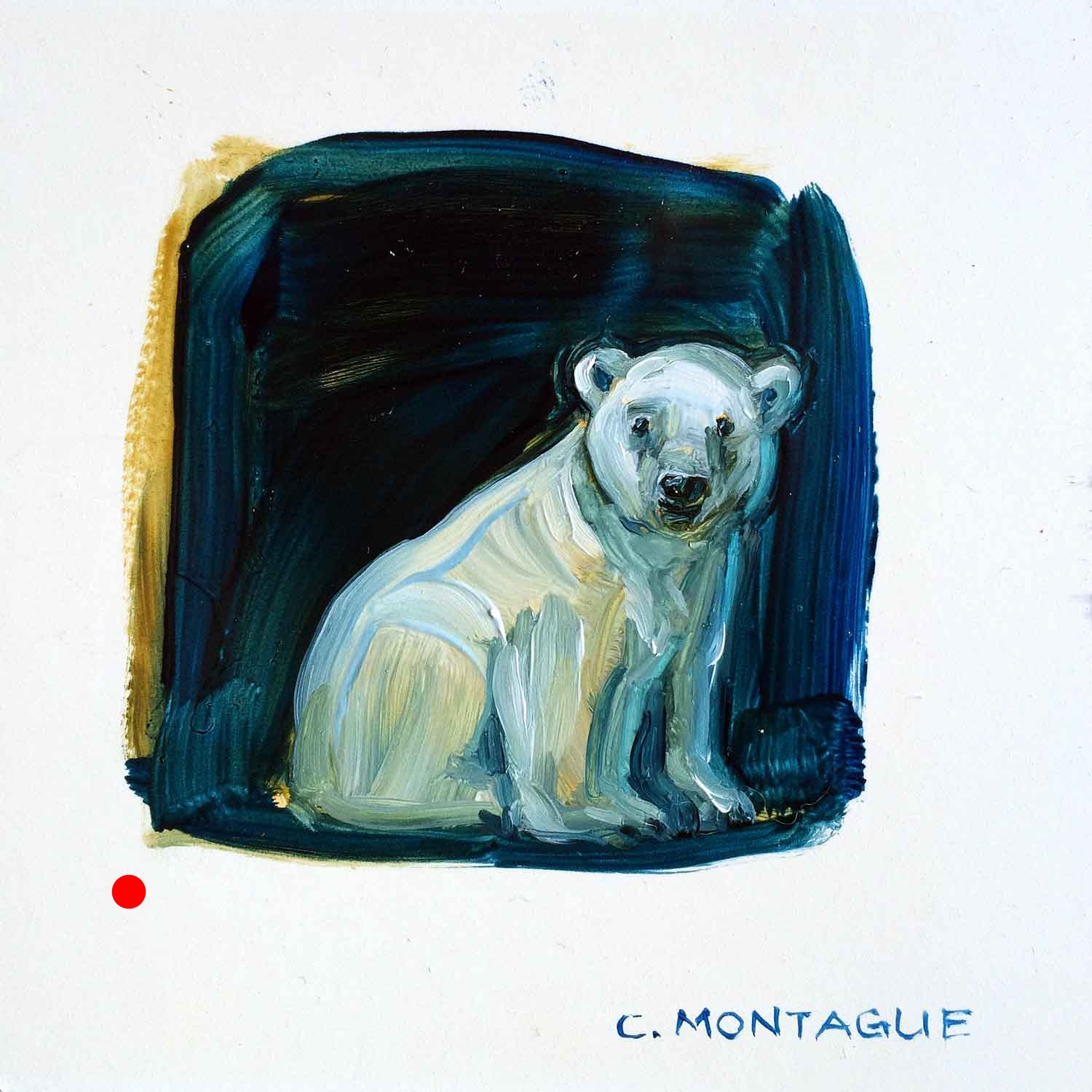 Sold. Polar Bear Cub Portrait 5