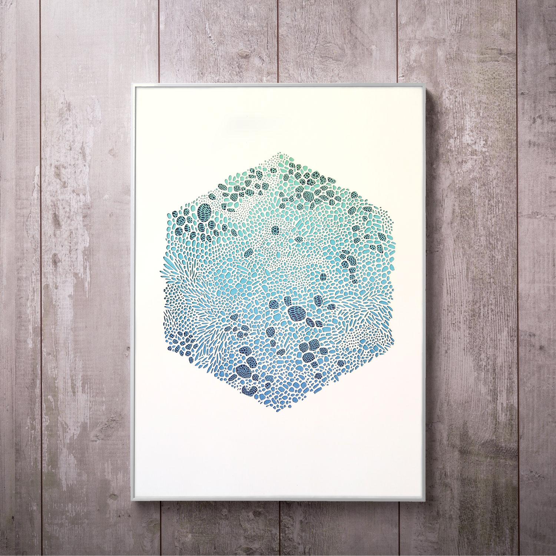 CELLEX IN SEA BLUE