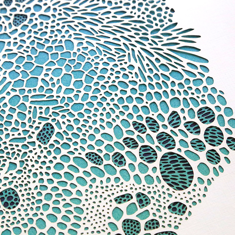 Detail: CELLEX IN SEA BLUE