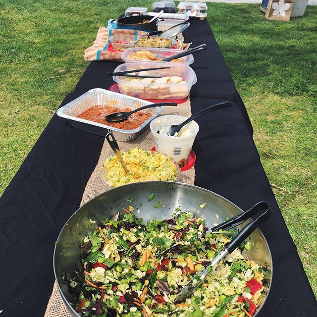 Huge thanks to all who came to our potluck picnic yesterday! We had a blast and the food was delicious!! Special thanks to our host for planning everything!