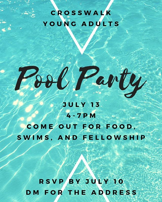 Join us for our summer pool party!