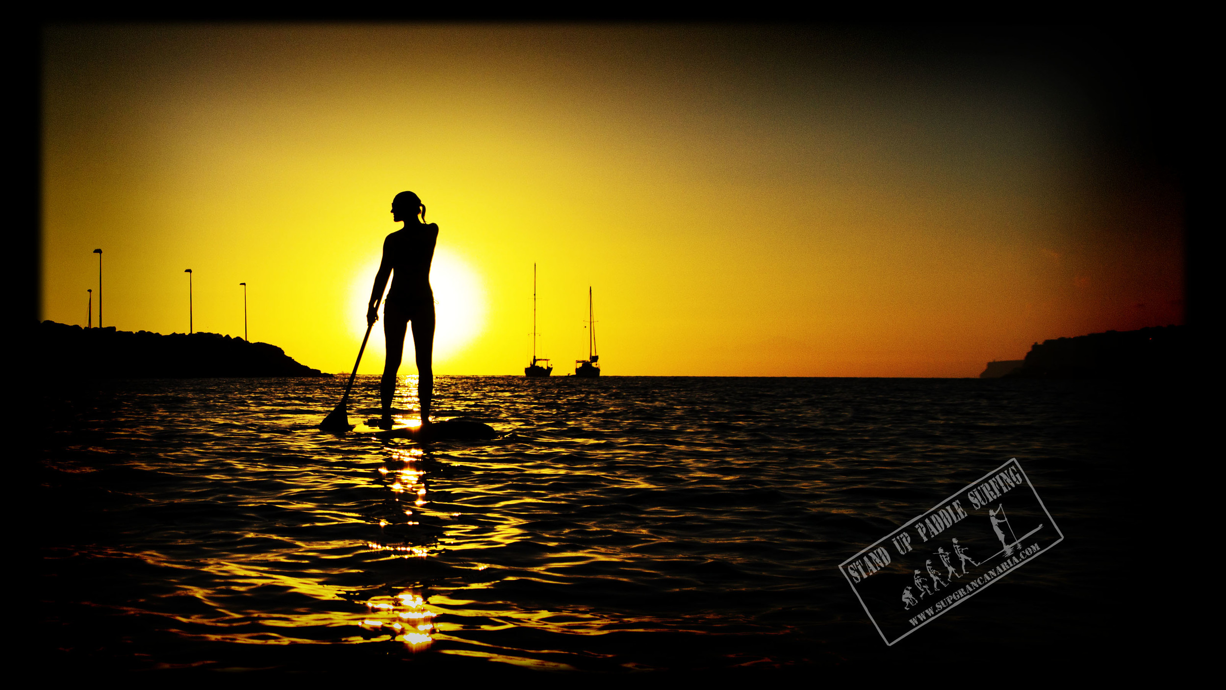 Sunset in Arguineguin