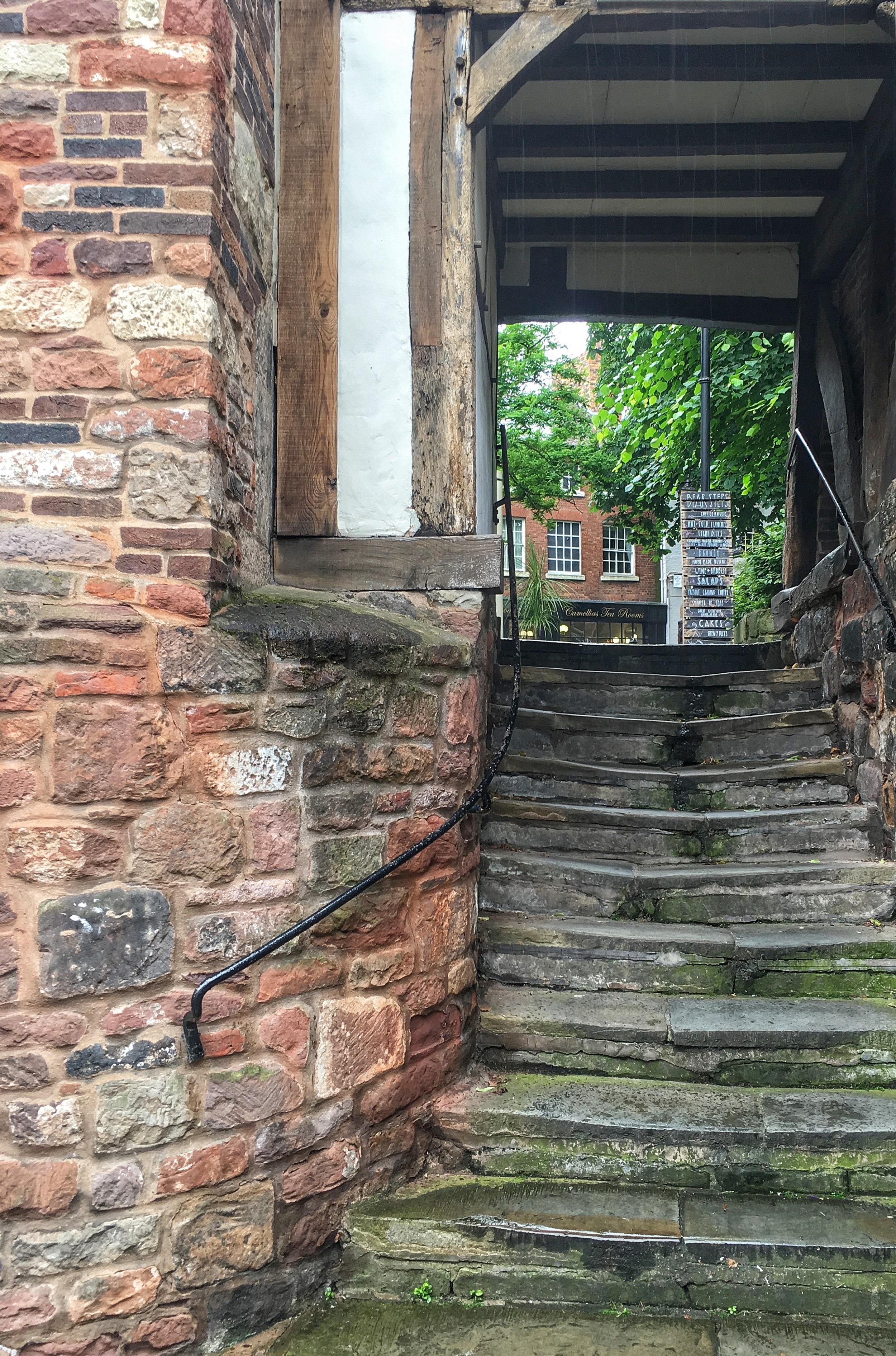 The Bear Steps - lots of rain; no bears.