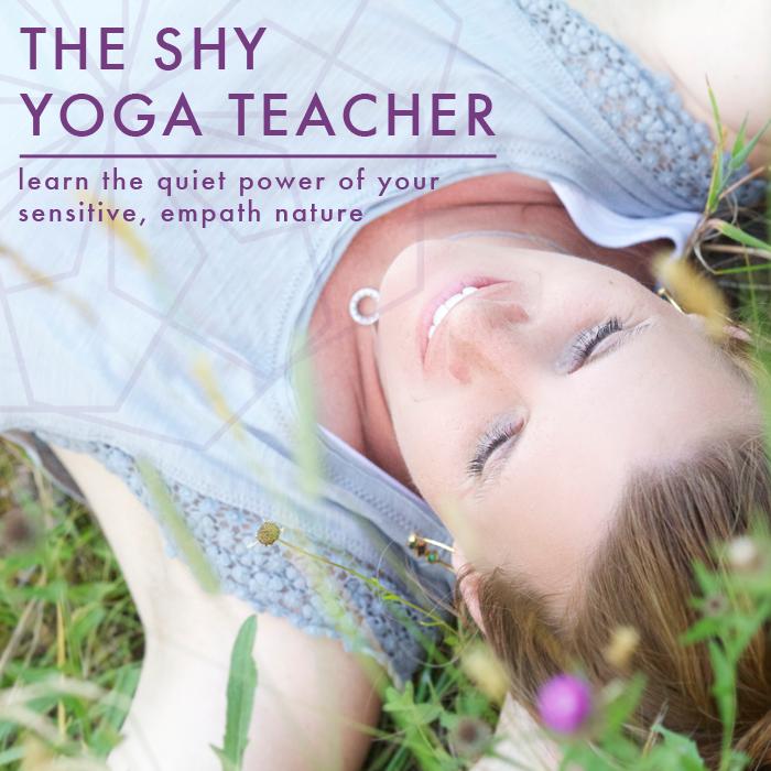 the shy yoga teacher