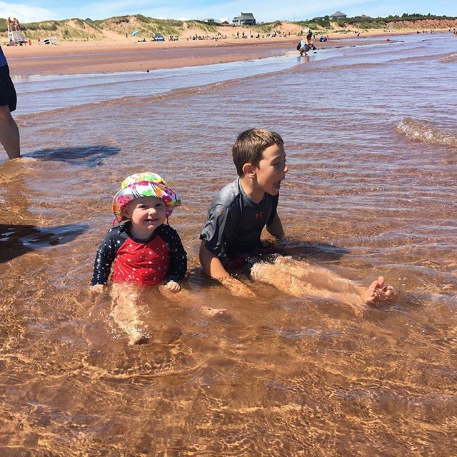 Warmest water + powder sand #pei