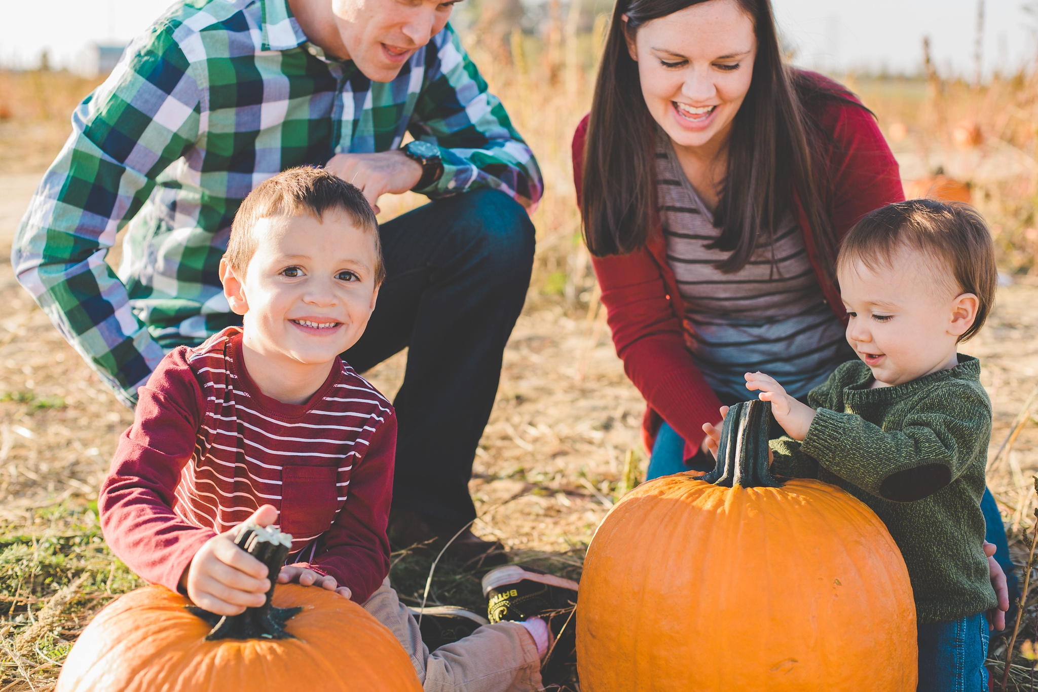 Pumpkin Patch Fall Family Session Louisville
