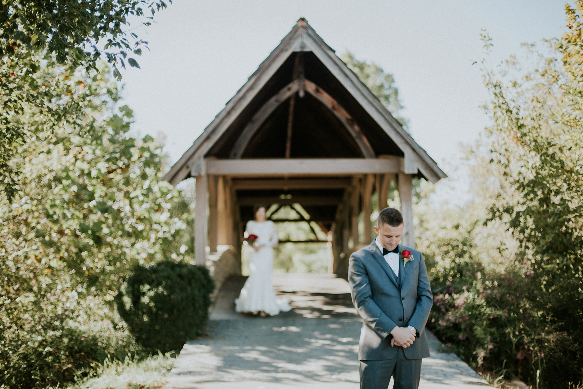 Fuzzy Zoeller's Covered Bridge Wedding