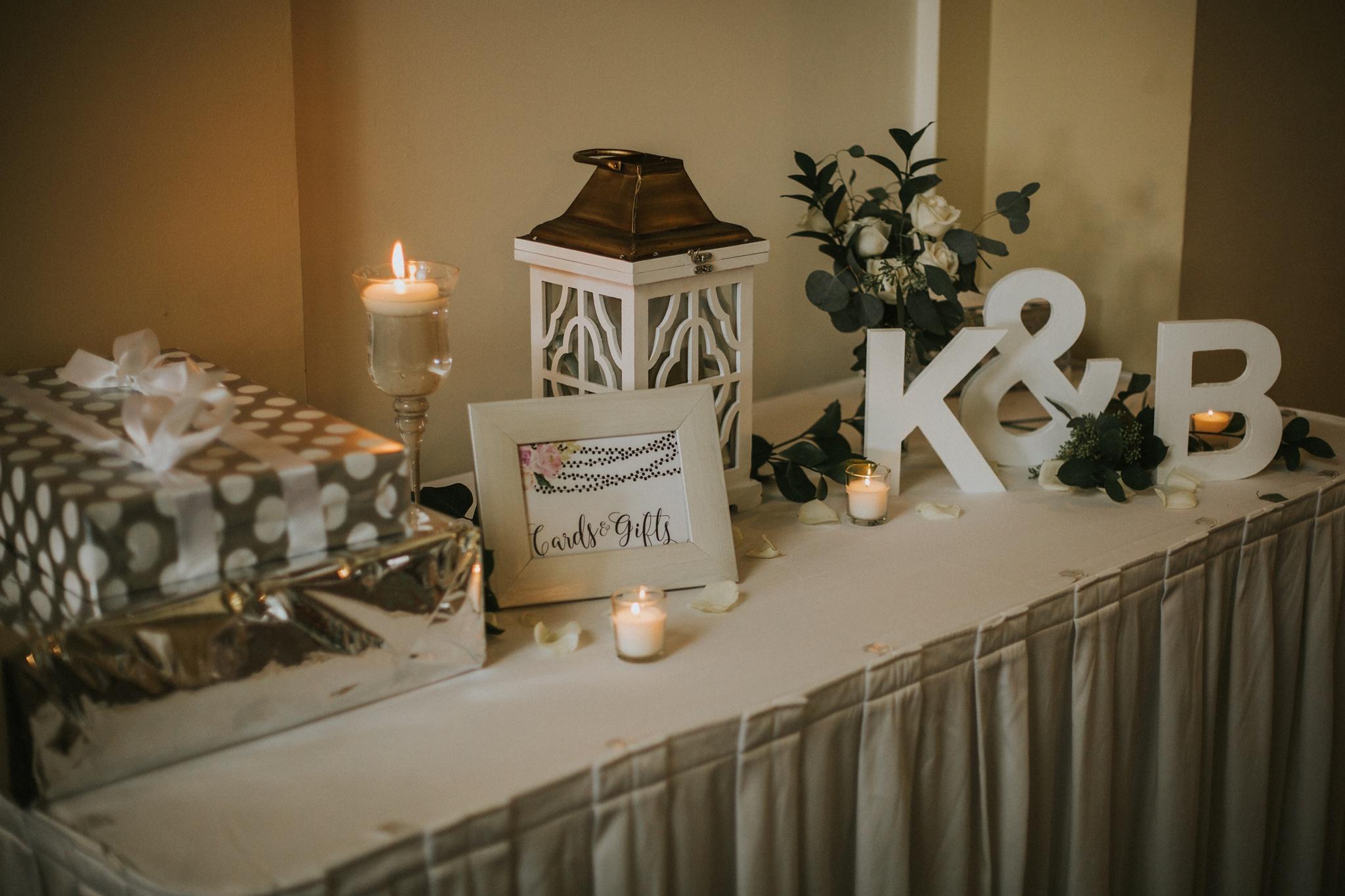 Kyes Jeffersonville Indiana Wedding Decor