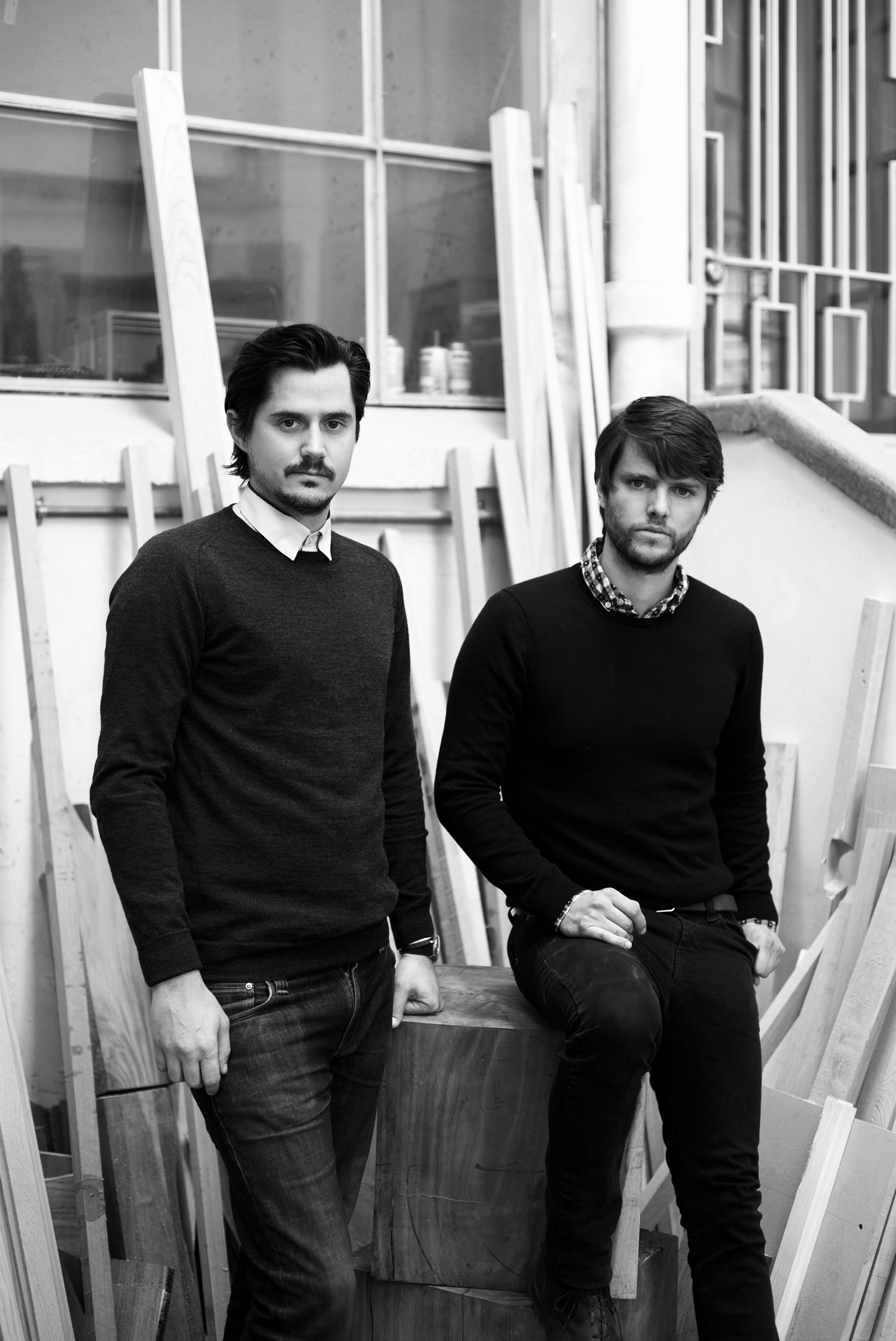 RODRIGO BERRONDO & PABLO IGARTÚA    With a specialty in woodwork, Rodrigo Berrondo and Pablo Igartúa combine functionality and aesthetics in large-scale furniture, blending classic techniques with modern tools. They seek to build enduring pieces of unique design and continuously work at perfecting their craft.