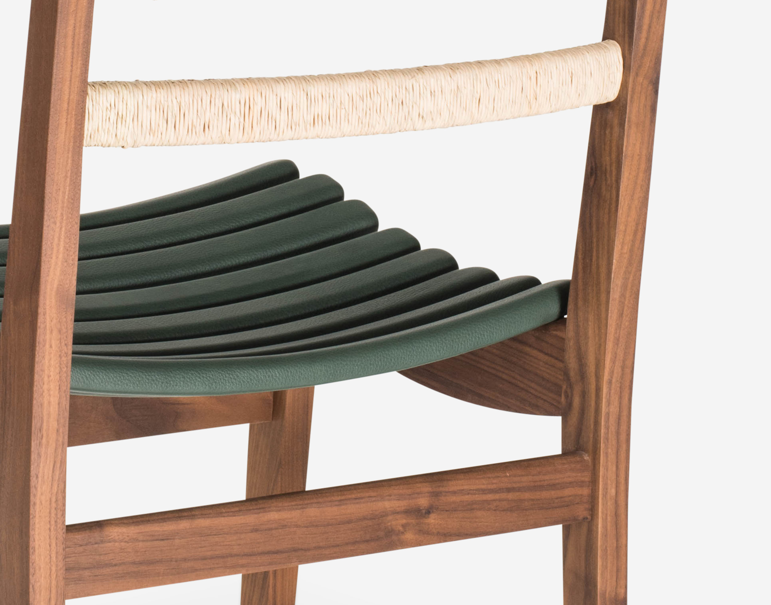 Luteca_MvB_San Miguelito-Dining Chair_Walnut_Green-Leather_D-W.jpg