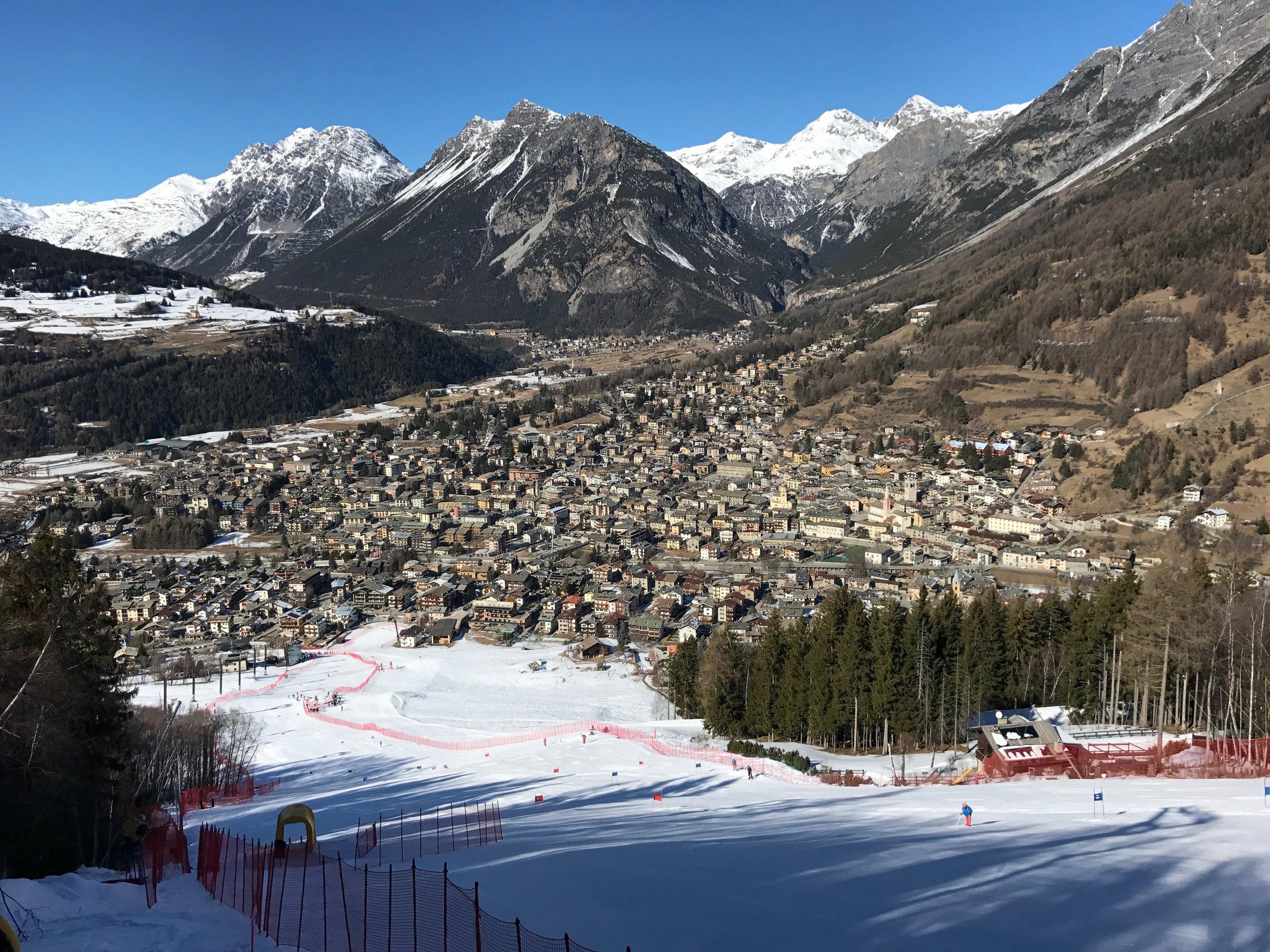 Bormio SG piste  Race entries can be made through Snowsport England  https://snowsportengland.org.uk/node/355