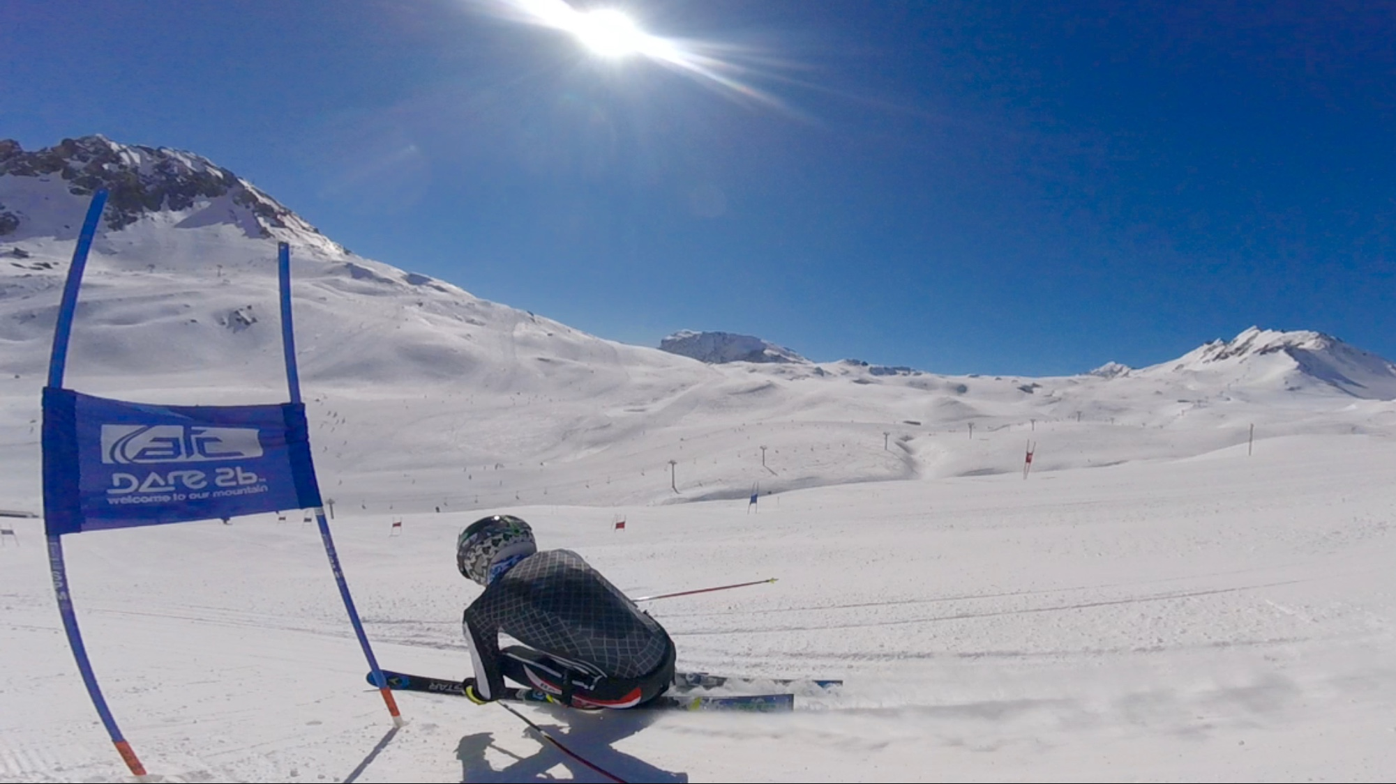 Training on in Val D'Isere on the ATC Tignes training week