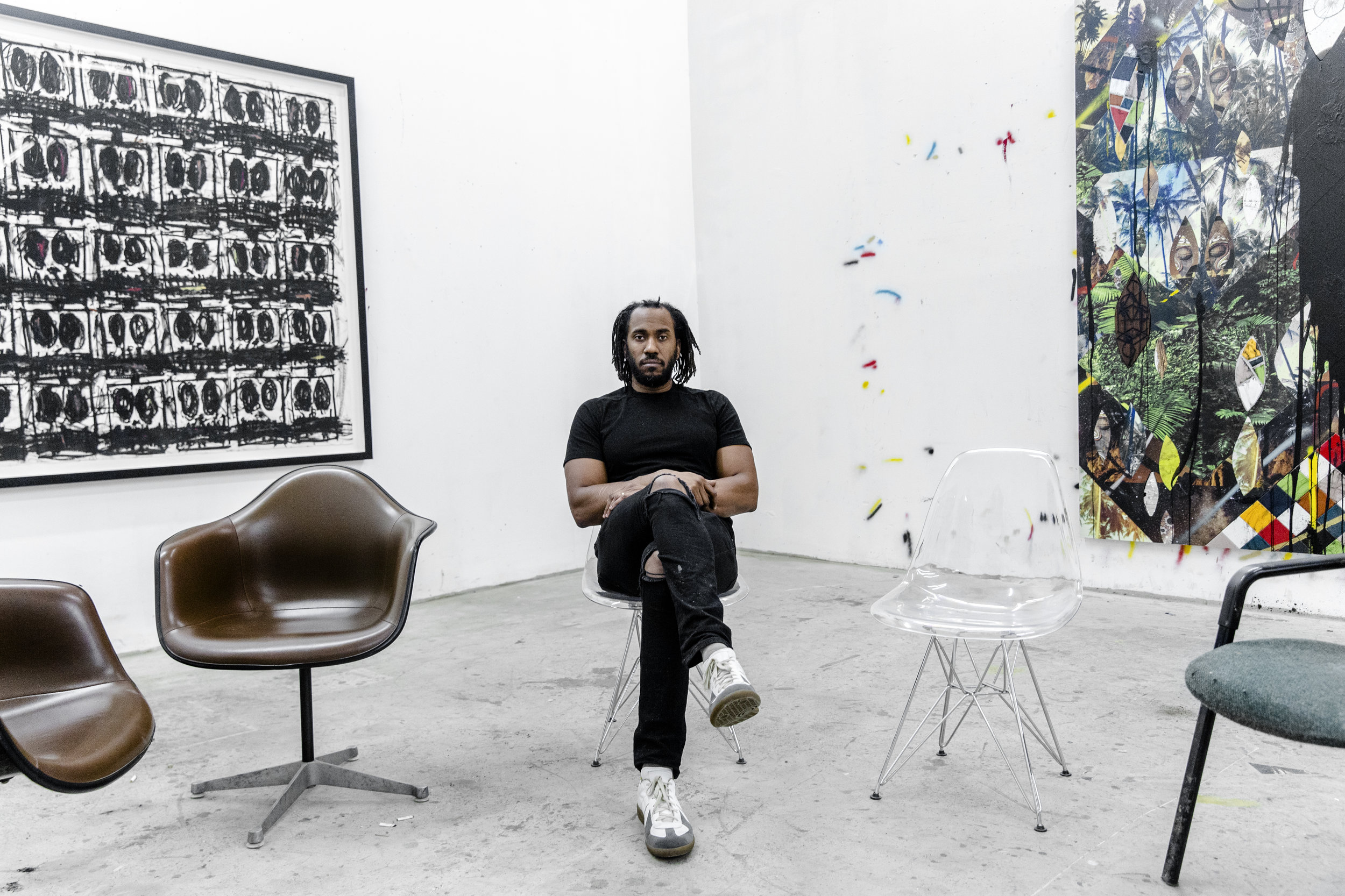 Artist - Rashid Johnson
