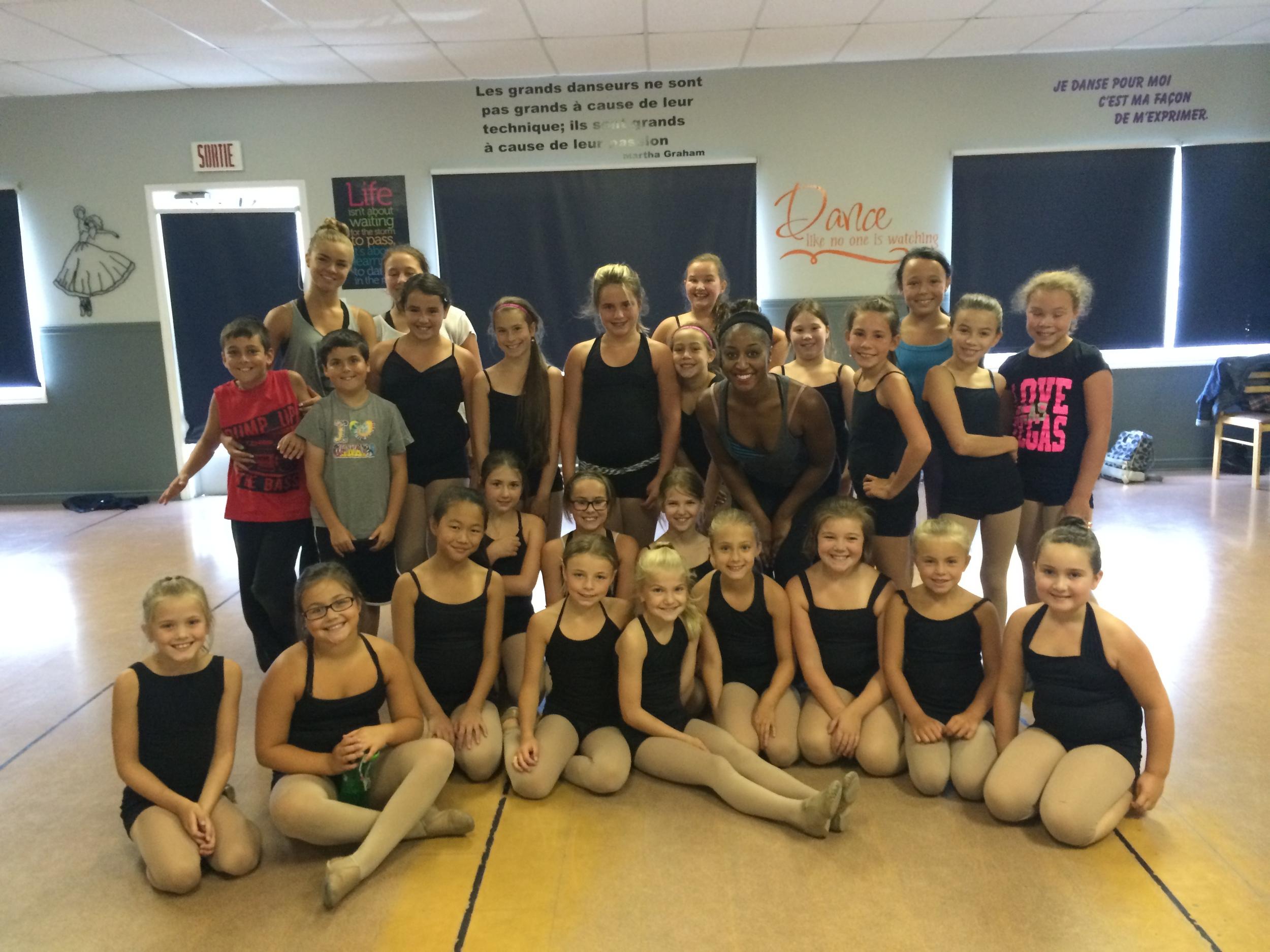 Danse Acadie 2014 Summer Dance Intensive- Jazz Dance Masterclasses with Saleemah E. Knight
