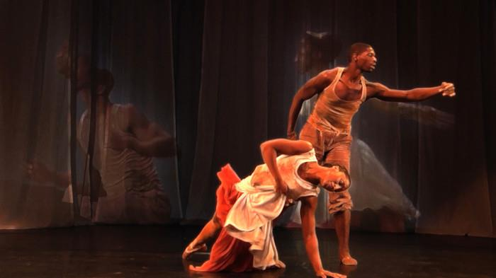 """""""Sacre Project"""" Performance- Saleemah E. Knight and Vincent Hardy"""