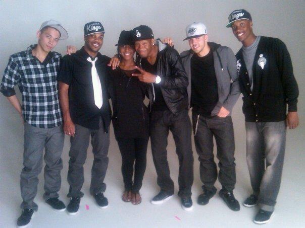 "A.D. ""Main Girl"" Music Video Shoot- Choreography by Saleemah E. Knight"