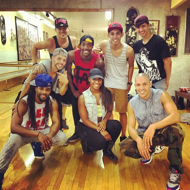 "Rehearsal for the Wisin ""Que Viva La Vida"" Music Video Shoot- Choreography by Saleemah E. Knight"