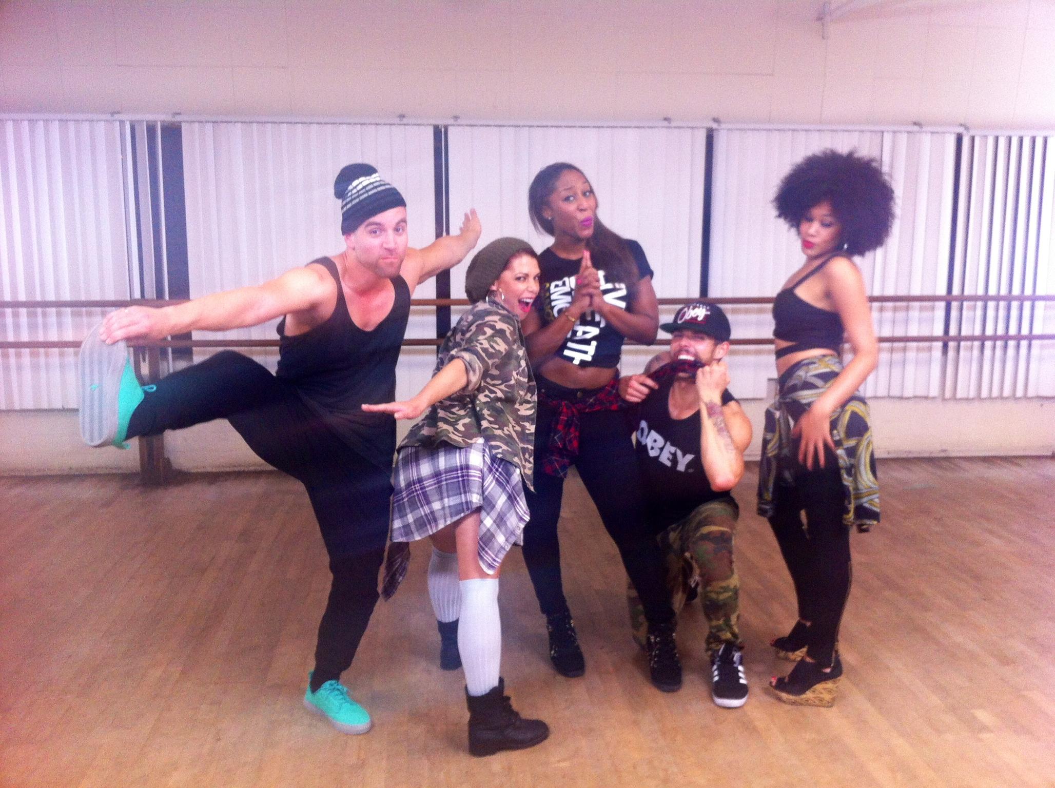 "Wisin ""Que Viva La Viva""-Choreography Tutorial with Saleemah E. Knight"
